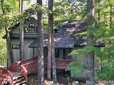 Beech Mountain Single Family Home For Sale: 608 Pine Ridge Road