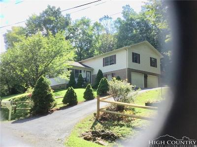 Ashe County Single Family Home For Sale: 118 Mount Jefferson Lane
