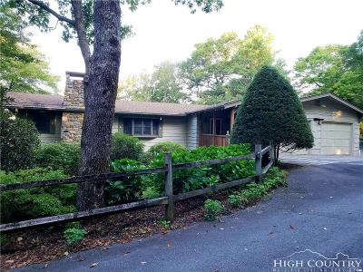 Blowing Rock Single Family Home For Sale: 560 Misty Ridge Lane