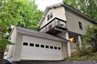 Beech Mountain Single Family Home For Sale: 218 Oak Road