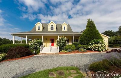 Watauga County Single Family Home For Sale: 2011 Hattie Hill Road