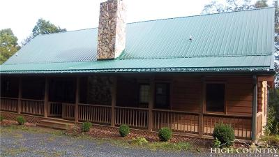 Alexander County, Burke County, Caldwell County, Ashe County, Avery County, Watauga County Single Family Home For Sale: 580 Little Tree Road