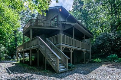 Blowing Rock Single Family Home For Sale: 8325 Hemlock Ridge Road
