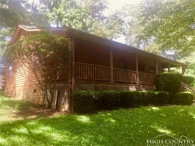 Todd Single Family Home For Sale: 4071 Big Hill Road