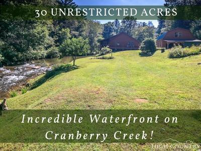Ashe County Single Family Home For Sale: 351 Double Springs Church Road