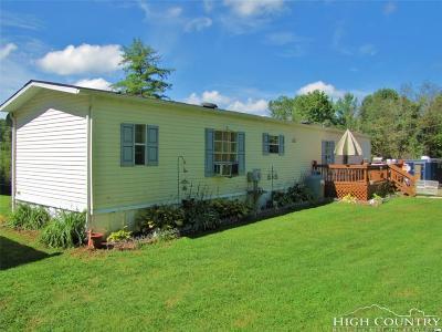 Ashe County Single Family Home For Sale: 369 John Baker Road