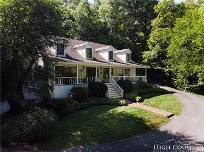 Watauga County Single Family Home For Sale: 159 Creekstone Drive