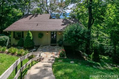 Sugar Mountain Single Family Home For Sale: 194 Highland Circle
