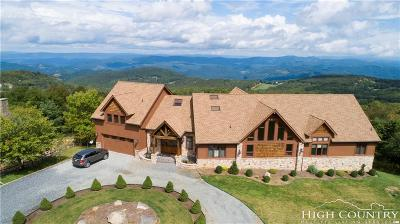 Beech Mountain NC Single Family Home For Sale: $1,150,000