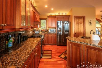 Watauga County Single Family Home For Sale: 122 N Pinnacle Ridge Road