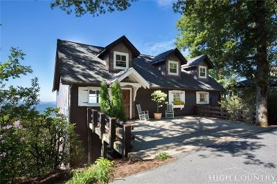 Blowing Rock Single Family Home For Sale: 242 Longview Drive