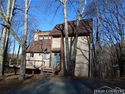 Beech Mountain Single Family Home For Sale: 114 Locust Ridge Road