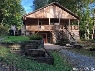 Blowing Rock Single Family Home For Sale: 243 River View Ln