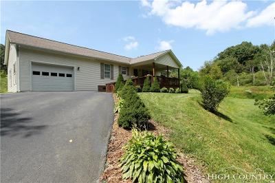 Watauga County Single Family Home For Sale: 648 Plank Hollow
