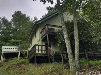 Beech Mountain NC Single Family Home For Sale: $199,000