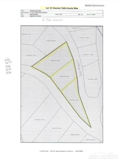 Avery County, Watauga County Residential Lots & Land For Sale: Lot 10 Larkspur Road