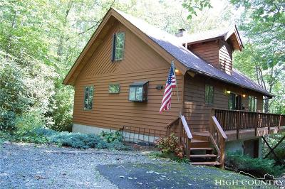 Avery County Single Family Home For Sale: 107 Goldfinch Road