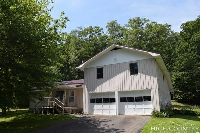 Ashe County Single Family Home For Sale: 1267 Nc Highway 194 Highway