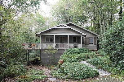 Blowing Rock Single Family Home For Sale: 155 Rickard Drive