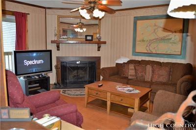 Beech Mountain NC Condo/Townhouse For Sale: $95,000