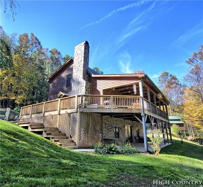 Ashe County Single Family Home For Sale: 563 Golf Course Road