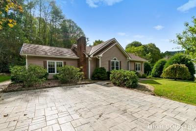 Boone Single Family Home For Sale: 160 River Way