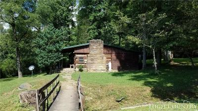 Alexander County, Ashe County, Avery County, Burke County, Caldwell County, Watauga County Single Family Home For Sale: 2971 Roby Martin Road