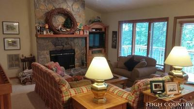 Beech Mountain Single Family Home For Sale: 106 Village (Club) Road