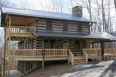 Ashe County Single Family Home Under Contract - Show: 137 Stony Branch Road