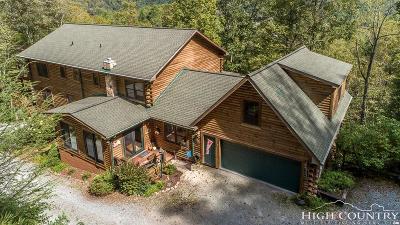 Banner Elk Single Family Home For Sale: 1709 Broadstone Road