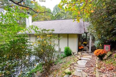 Blowing Rock Condo/Townhouse For Sale: 172 Highland Lakes Road #B