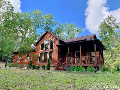 Ashe County Single Family Home For Sale: 811 New River Overlook