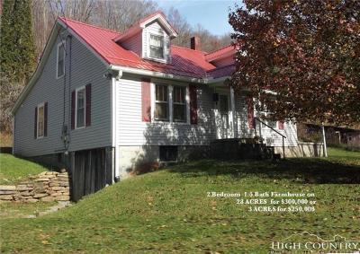 Vilas Single Family Home For Sale: 1068 B Laurel Branch