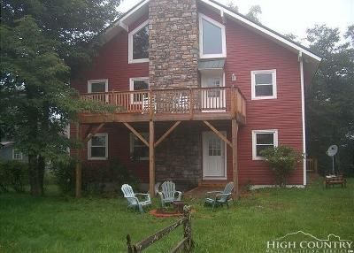 Beech Mountain NC Single Family Home For Sale: $329,000