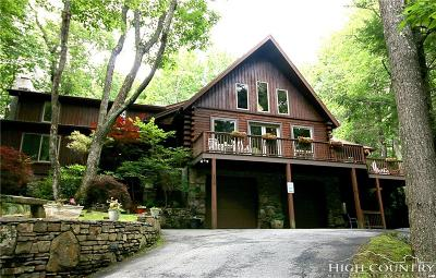 Blowing Rock Single Family Home For Sale: 206/208 Alderly Circle