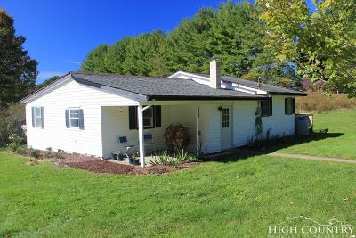 Watauga County Single Family Home For Sale: 422 Mabel School Road