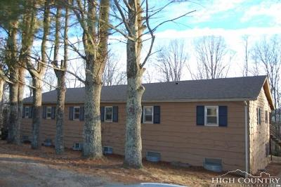 Ashe County Multi Family Home For Sale: 712 Nikanor Road