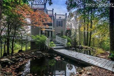 Blowing Rock Single Family Home For Sale: 308 Flat Mountain Road Roads