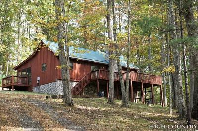 Ashe County Single Family Home Under Contract - Show: 309c Mouth Of Silas Creek Road