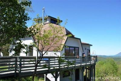 Alexander County, Burke County, Caldwell County, Ashe County, Avery County, Watauga County Single Family Home For Sale: 633 Buckeye Ridge Road