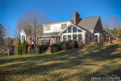 Watauga County Single Family Home For Sale: 140 Wilson Ridge Road