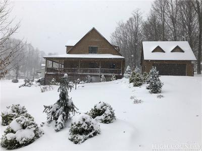 Watauga County Single Family Home For Sale: 177 Turning Leaf Trail