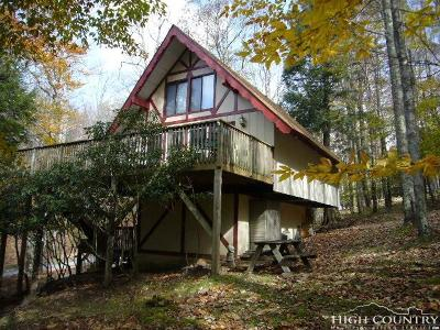 Beech Mountain NC Single Family Home For Sale: $195,000