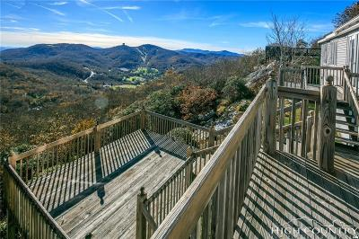 Avery County Single Family Home For Sale: 306 Windy Knob Trail