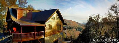 Watauga County Single Family Home For Sale: 191 Hiking Hills Road