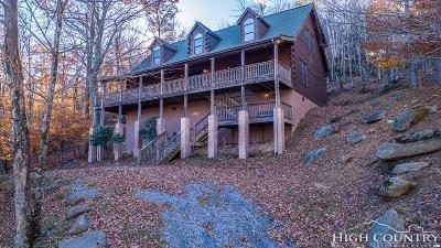 Beech Mountain Single Family Home For Sale: 135 Chestnut Way