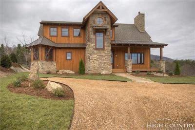 Blowing Rock Single Family Home For Sale: 154 Starry Night Trail