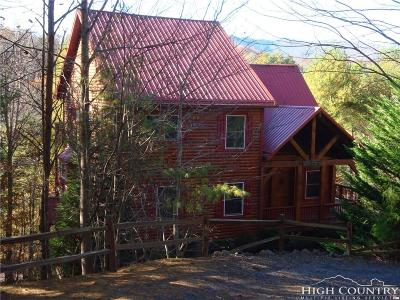 Ashe County Single Family Home For Sale: 657 River Hills Road