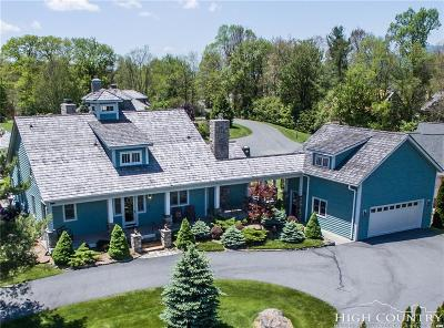 Blowing Rock Single Family Home For Sale: 201 Rocky Glen Lane