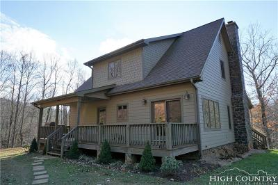 Ashe County Single Family Home For Sale: 317 Stanley Road